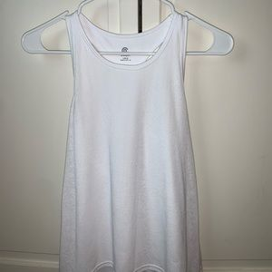 champion white sleeveless shirt